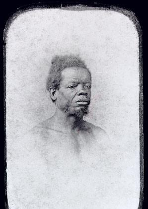Homem da Nação Africana Moçambique