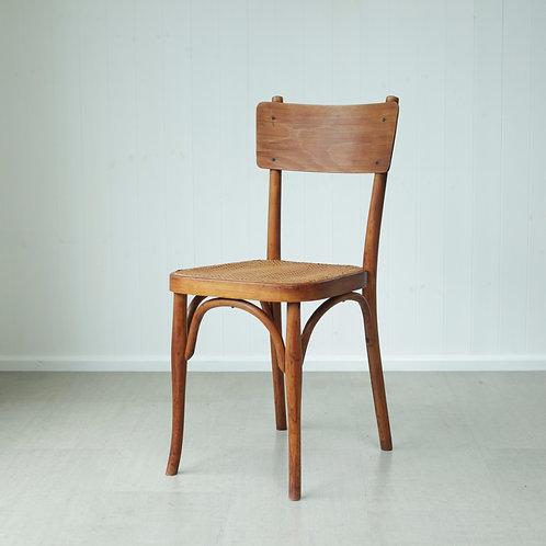 Bentwood & Rattan Chair