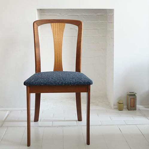 Set of Six Teak Chairs by Meredew