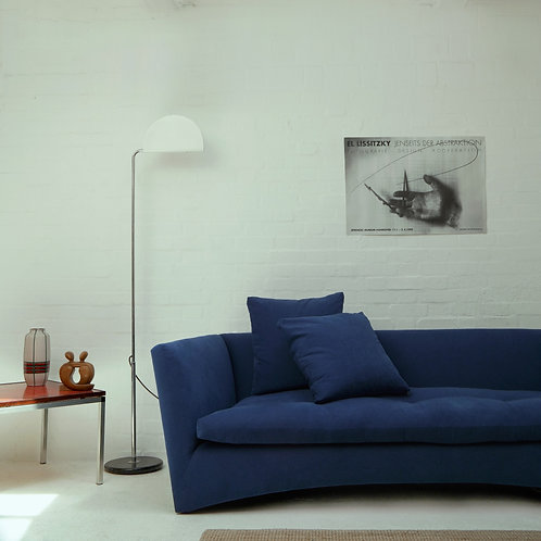 SAMPLE SOFA PP02 ARC BY MATTHEW LONG FOR PUSH PULL HANDMADE LUXURY FEATHER FILLED MADE IN ENGLAND UK ARTISAN