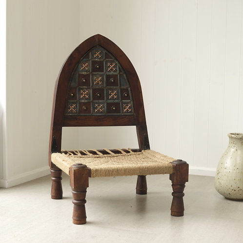 Low Gothic Rope Chair