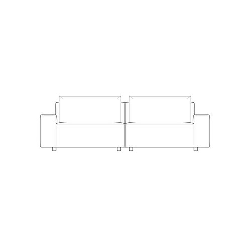 PP//01 4 Seat - Low Arm