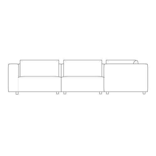 PP//01 Medium Corner - High Arm