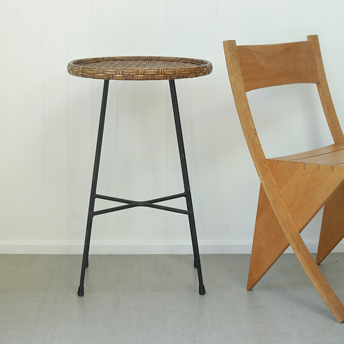Rattan Side Table