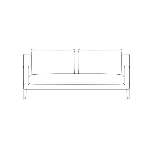 PP//03 Two Seat Sofa