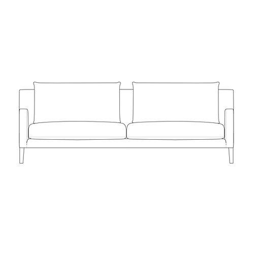 PP//03 Three Seat Sofa