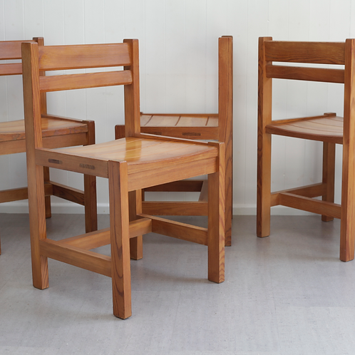 Swedish Pine Chairs