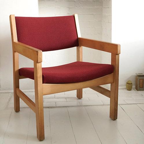 Hans Wegner Armchair (reupholstered)