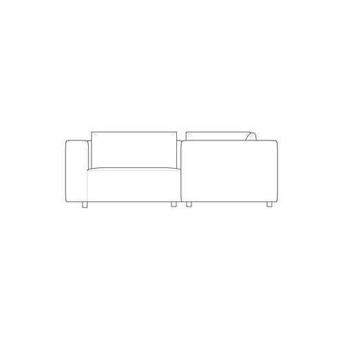 PP//01 Small Corner - High Arm