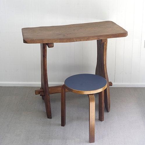 Brutalist Wooden Table