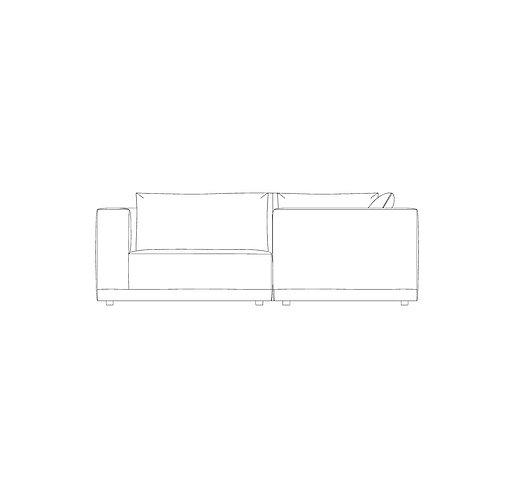 PP//01 Small Corner Sofa