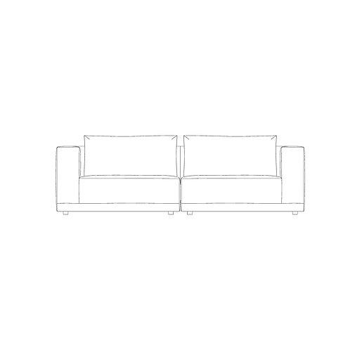 PP//01 Four Seat Sofa
