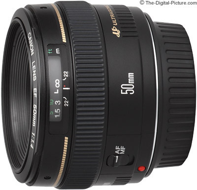 Canon 50mm 1.4 USM (image copyright http://www.the-digital-picture.com)