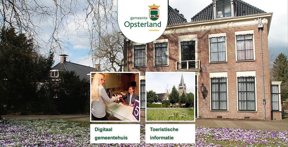 een nieuwe website voor Opsterland