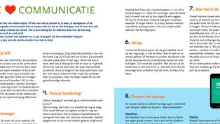 Artikel over communicatie in Nijsblad Groninger Dorpen
