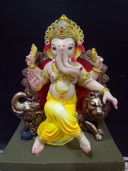 Ganesha Idol Height :- 20 inches