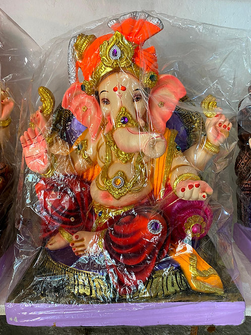 Ganesha Idol Height:- 30 inches