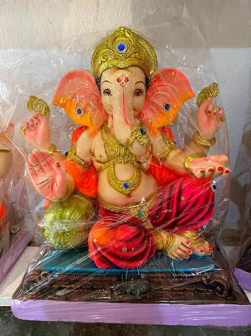 Ganesha Idol Height :- 33 inches to 36 inches