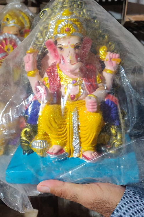 Ganesha Idol Height :- 12 inches