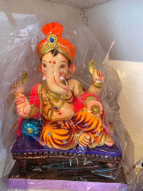Ganesha Idol Height :- 21 inches