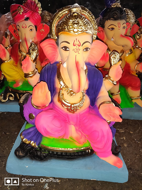 Ganesha Idol Height :- 10 inches