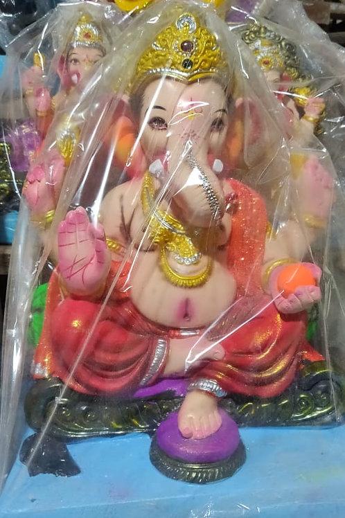 Ganesha Idol Height :- 14 inches