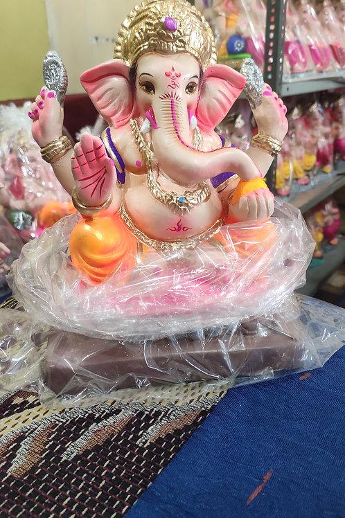 Ganesha Idol Shadu Height :- 10 inches