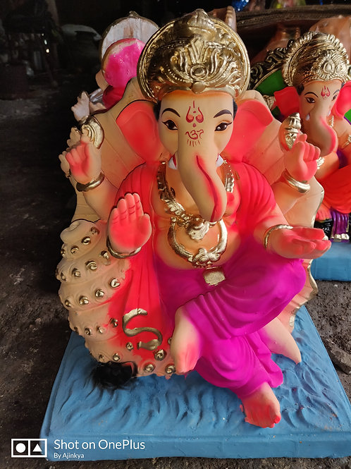 Ganesha Idol Height :- 10 inches