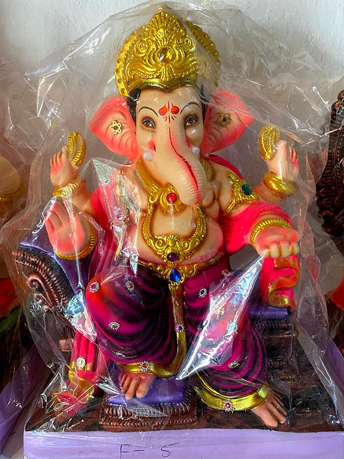 Ganesha Idol Height :- 18 inches