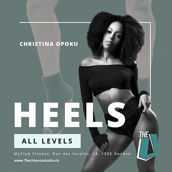 Christina Opoku • Heels • Jeudis 19h00, Genève