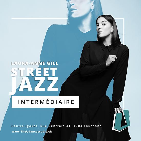 Laura-Anne Gill • Jeudis 21h00 Lausanne • Intermédiaire : Street Jazz
