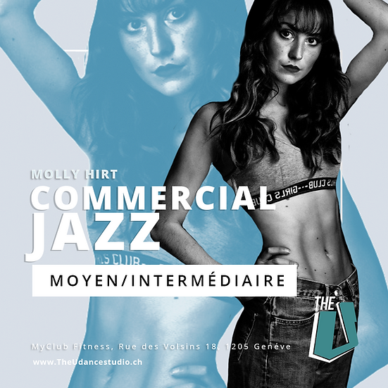 Molly Hirt • Jeudis 18h00 Genève • Moyen/Inter : Commercial Jazz