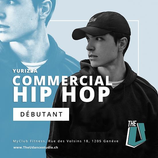 Yurizza • Lundis 19h30 Genève • Débutant : Commercial Hip-hop