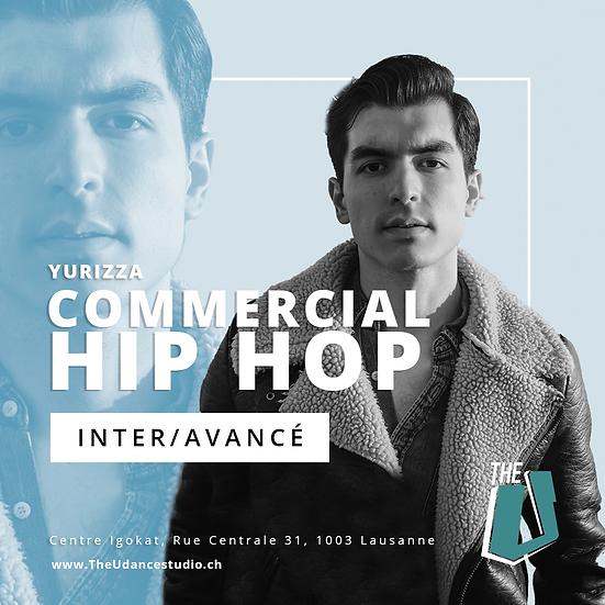 Yurizza • Vendredis 20h30 Lausanne • Intermédiaire : Commercial Hip-hop