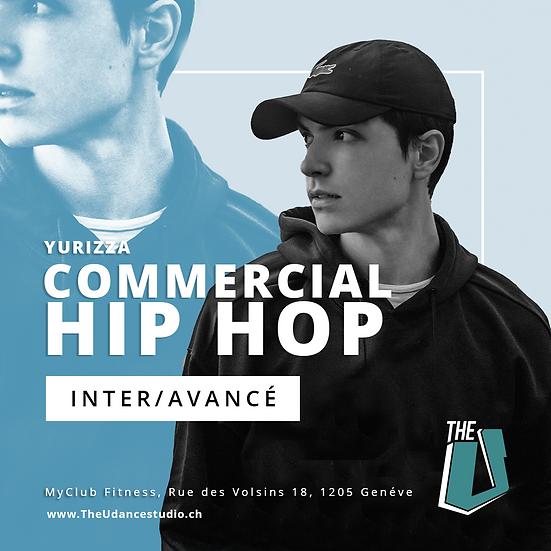 Yurizza • Mardis 20h30 Genève • Intermédiaire/Avancé : Commercial Hip-ho