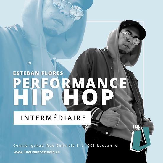 Esteban Flores • Mercredis 20h30 Lausanne • Intermédiaire : Performance Hip-hop