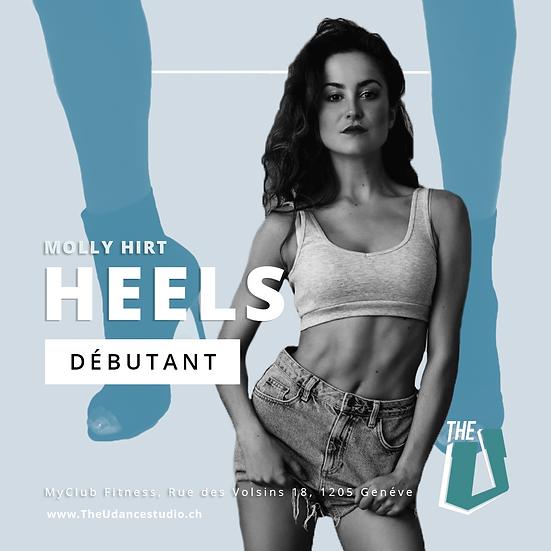 Molly Hirt • Jeudis 19h00 Genève • Débutant : Heels