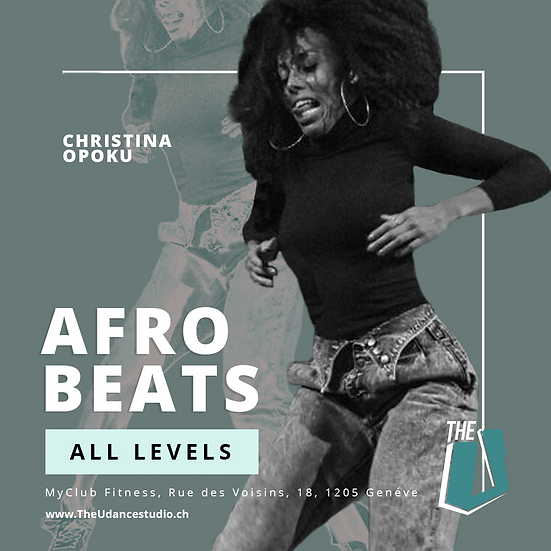 Christina Opoku • Afrobeats • Jeudis 18h00, Genève