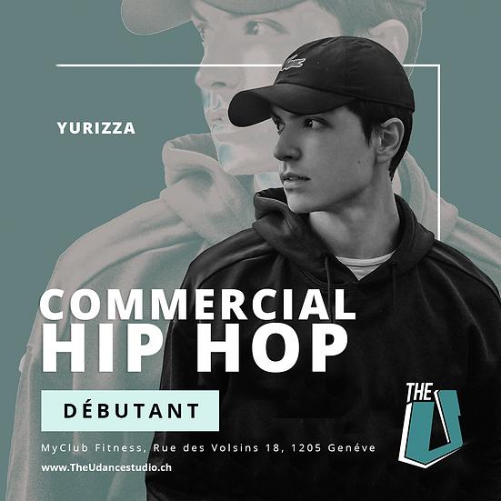 Yurizza • Débutant : Commercial Hip-hop • Mardis 18h00, Genève