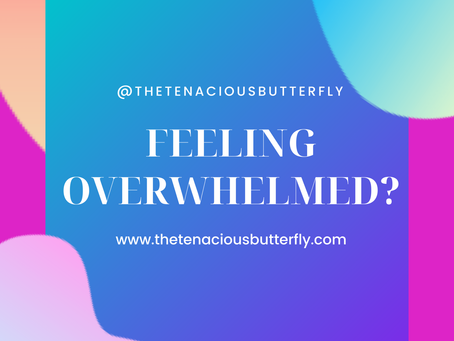 No more feeling overwhelmed!