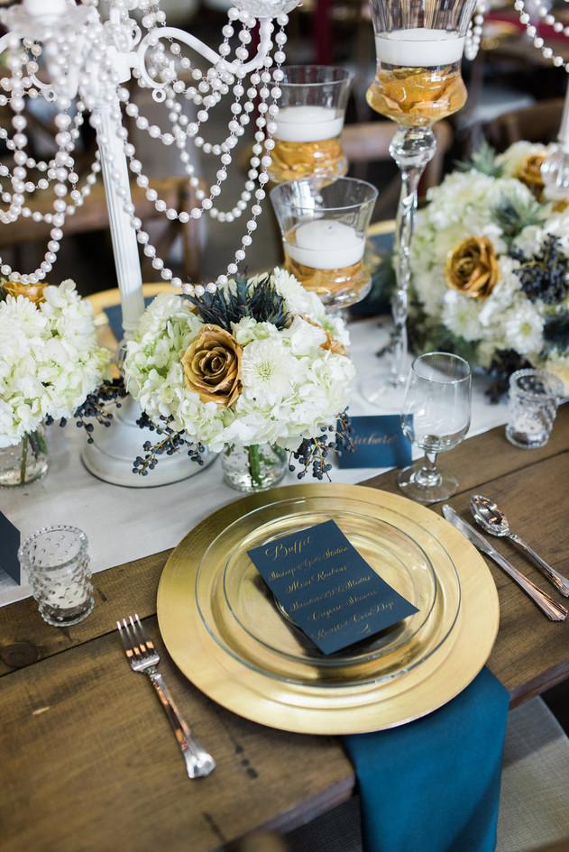 The Big Fake Wedding Atlanta gold love a