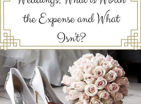 Weddings: What is Worth the Expense and What Isn't?