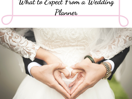What to Expect From a Wedding Planner