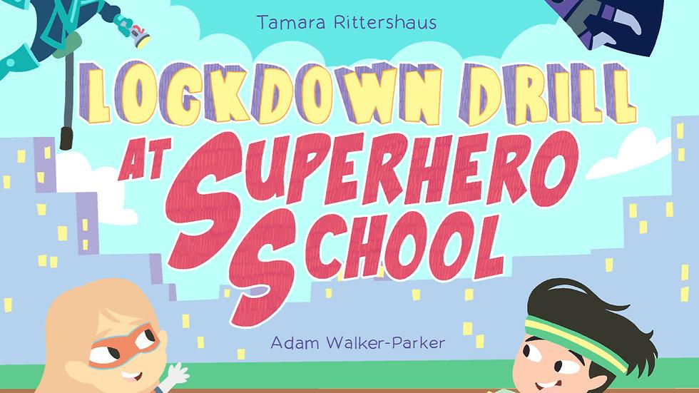 E-Book: Lockdown Drill at Superhero School