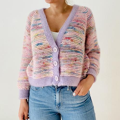 Knitting Pattern Claude Cardigan