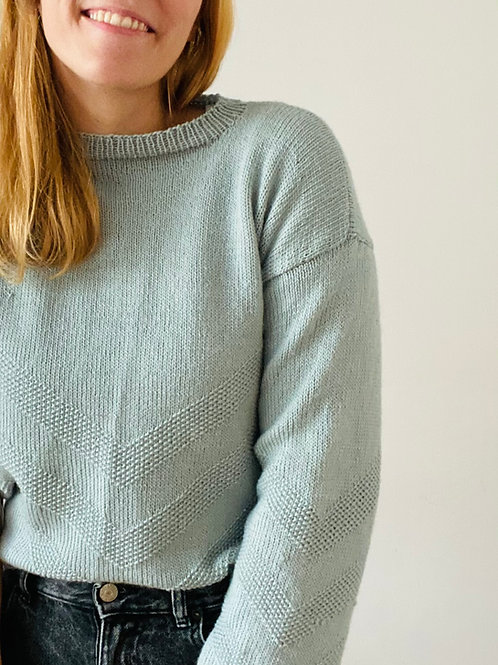 Knitting Pattern Henri Sweater