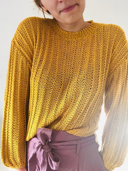 Knitting Pattern Salvador Sweater