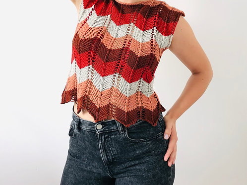 Knitting Pattern Thierry Tee