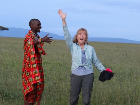 Cindia back at Royal Mara. Marcia Moore