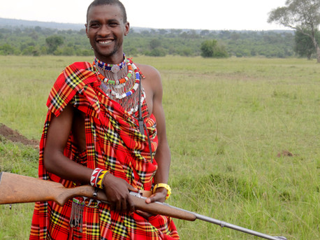 41.	Samwel, a warrior at Royal Mara Safari Lodge.  Bob Pool.jpeg